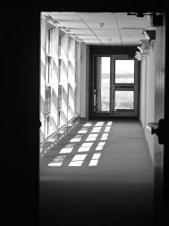 Hallways of Annunciation Monastery