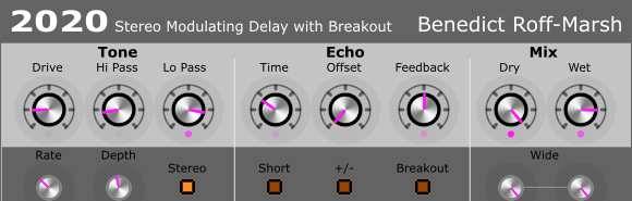 2020 Modulating Delay with Breakout