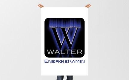 "Logo ""Walter EnergieKamin"""