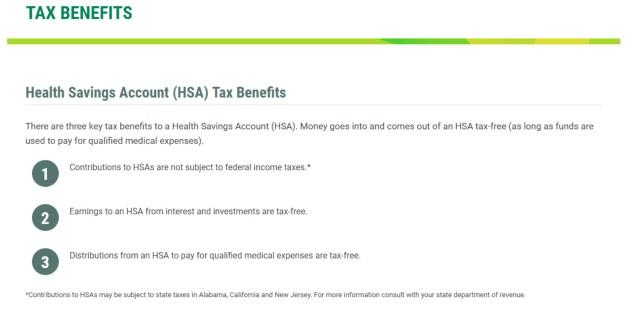 California HSA Information
