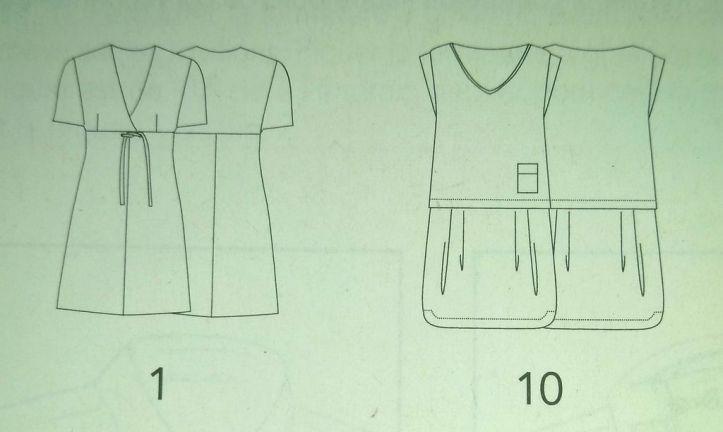 les modeles robes et combinaisons couture actuelle special n°2