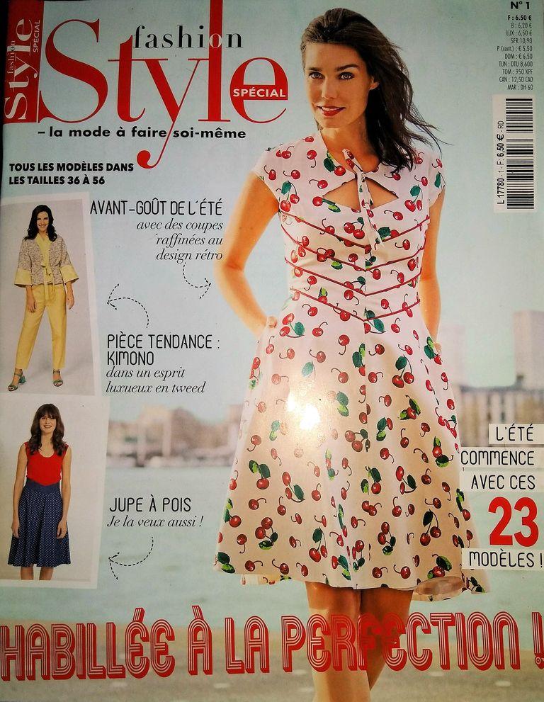 couverture fashion style spécial N°1