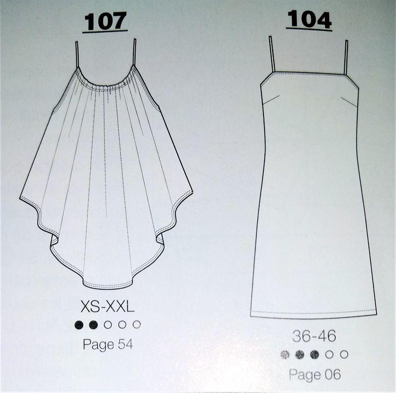Les modeles, les robes , les hauts les combinaisons