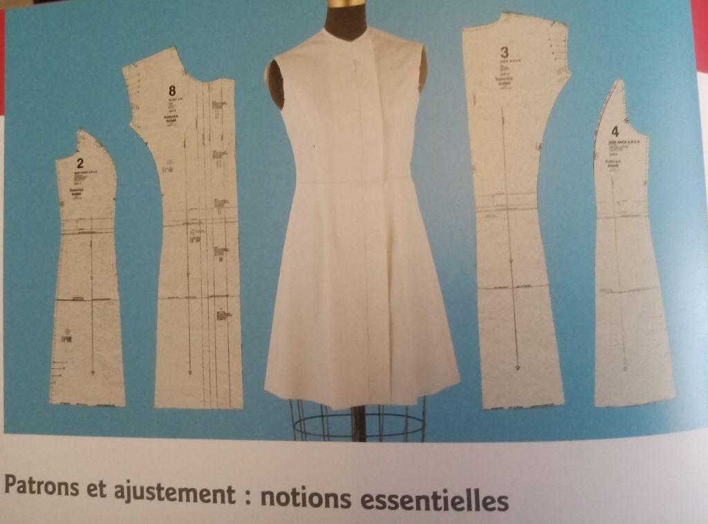 Ajustement des patrons de couture LIVRE de Sarah Veblen Pour Toutes Morphologies