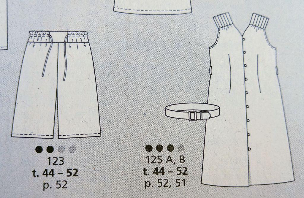 Dolce Vita avec Burda Style n259 avec un modèle Rétro couture à tomber
