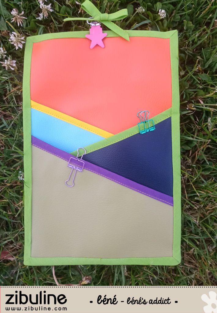 Zibuline Mon dernier Tuto Couture GRATUIT Vide-poches coloré chez Zibuline!