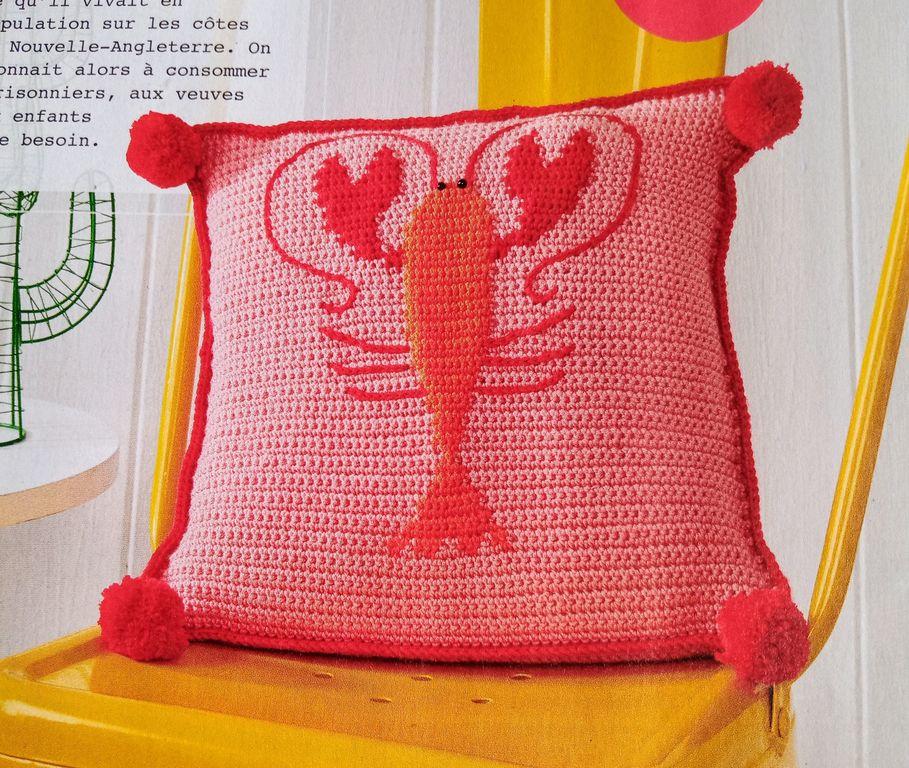 Voilà l'été, sortons crocheter à la plage avec Fait Main Crochet Amigurumi, homard...