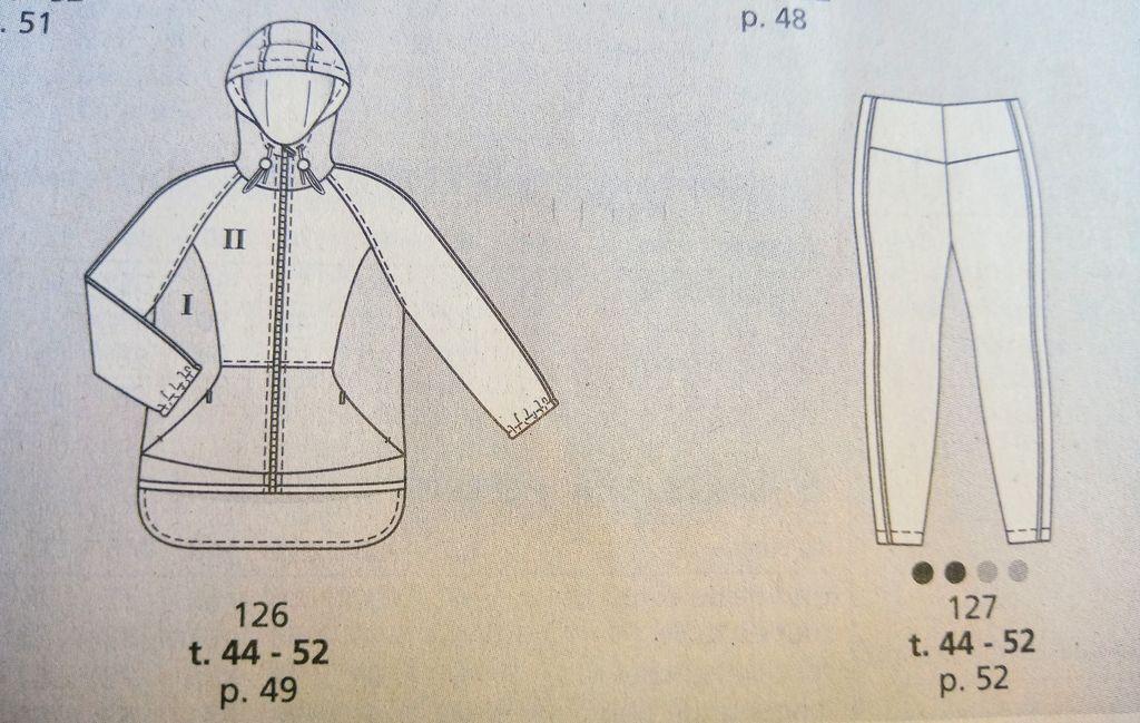 colorama revue de presse Burda style n°260 mode grandes taille sportive, beaucoup de couleurs dans la revue couture, 2 tutos pour coudre 2 jolies pieces