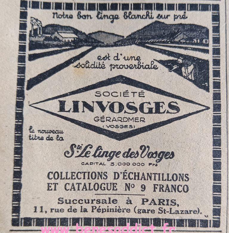 tranches de vies années 30, publicités,recettes de cuisines, modéles nombreux à crocheter et tricoter
