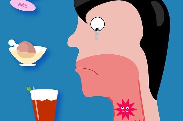 tosse mal di gola