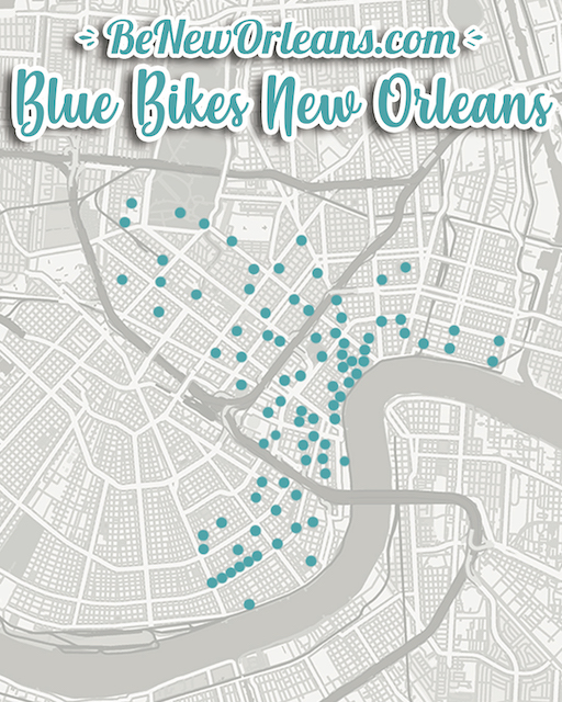 Getting around New Orleans, transportation in new orleans, moving to New Orleans