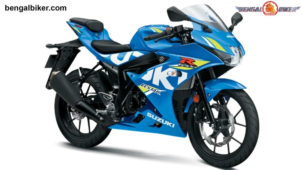 GSX-R 150 Blue colors Bangladesh