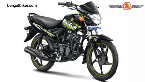 Suzuki Hayate 110 Special Edition black