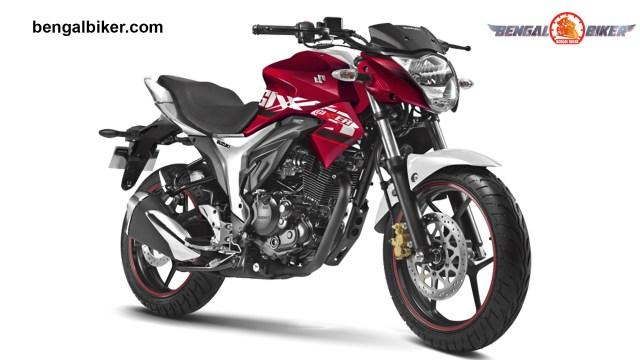 suzuki gixxer 155 red