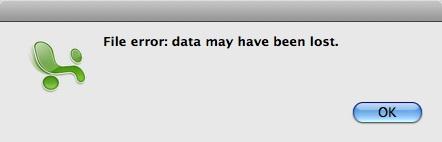 Excel File Error