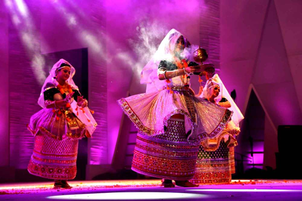 Dance Manipuri by Warda Rihab