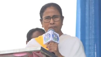 WB assembly election 2021: মা-বাবার গরহাজিরায় আনন্দের দাদু-মামাকে Mamata-র মঞ্চে তুলল TMC!