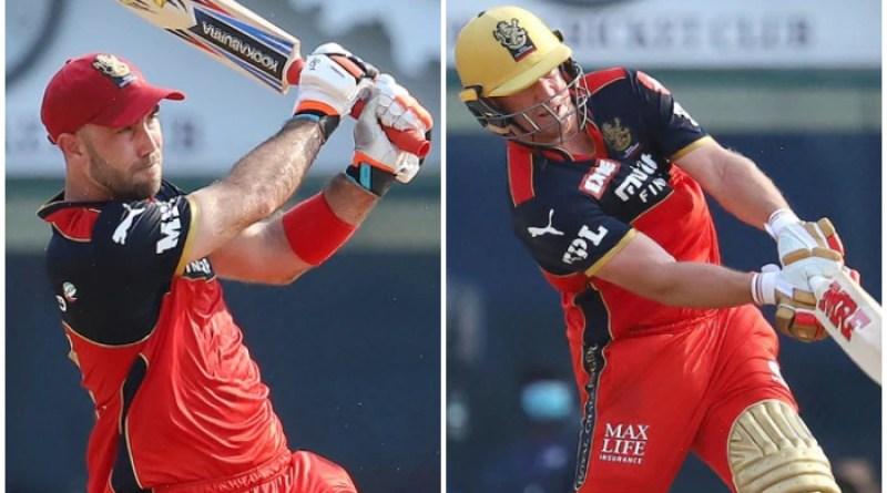 IPL 2021, RCB vs KKR: Maxwell-ABD ঝড়! কলকাতার টার্গেট ২০৫