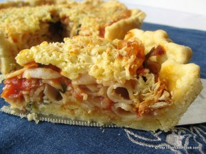 Elbow Pasta Tart