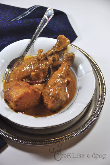 Sunday chicken curry from Chittagong