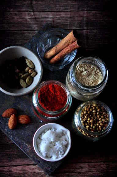 Chicken Korma spices