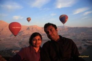 Luxor: Balloon ride over Kings Valley