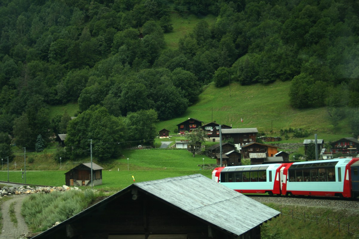 Glacier Express On the way