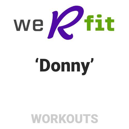 CrossFit Donny Workout