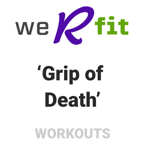 CrossFit Grip of Death Workout