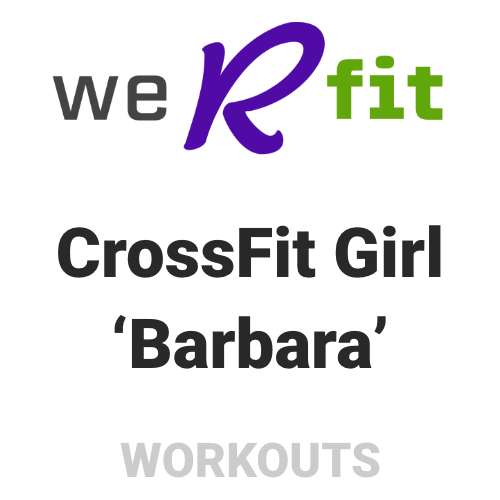 CrossFit Barbara Workout