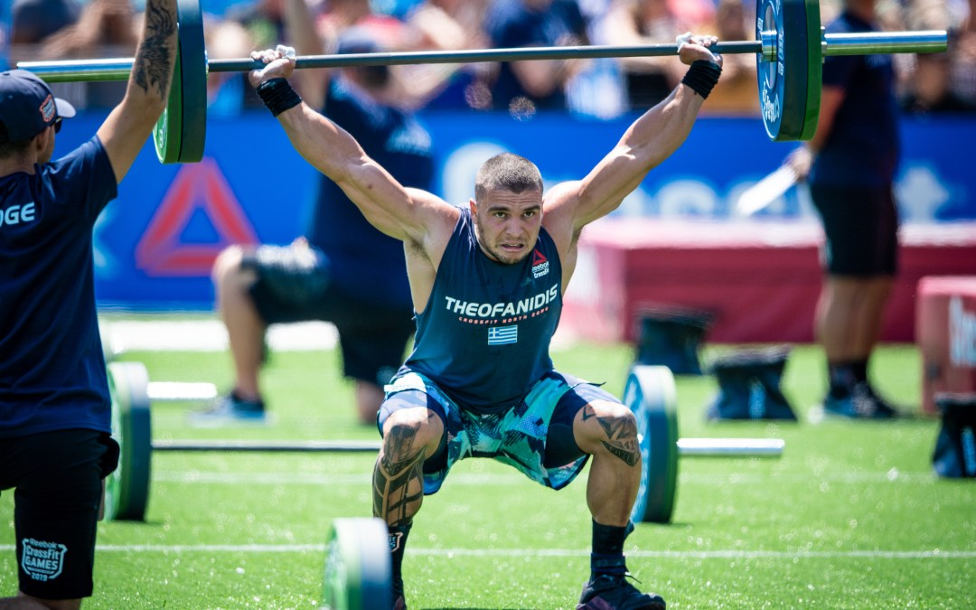 Lefteris Theofanidis, the National Champion of Greece, has tested positive for a banned substance. Photo courtesy of CrossFit.