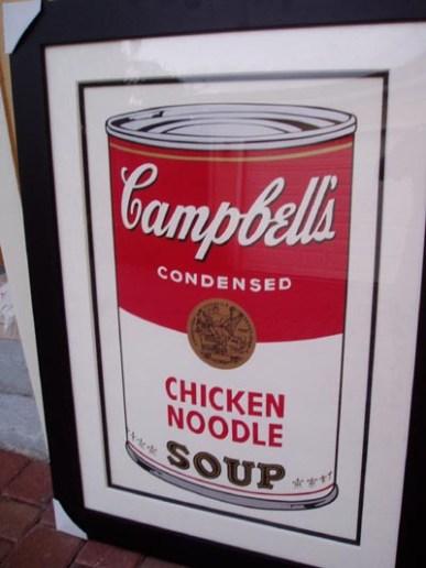 Warhol - Chicken Noodle Soup