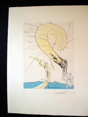 Dali - Freud with Snail Head