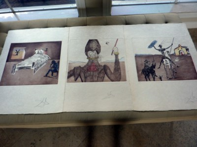 Dali-Don Quixote trio