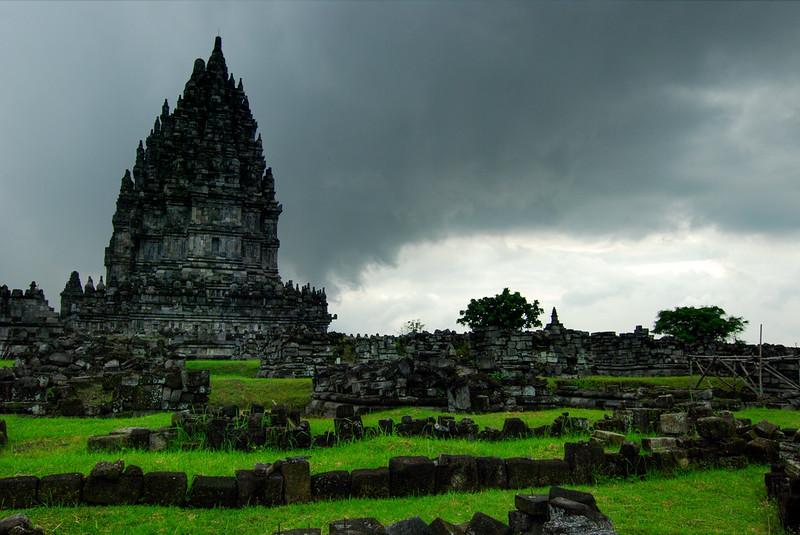 storm over Prambanan, Yogyakarta