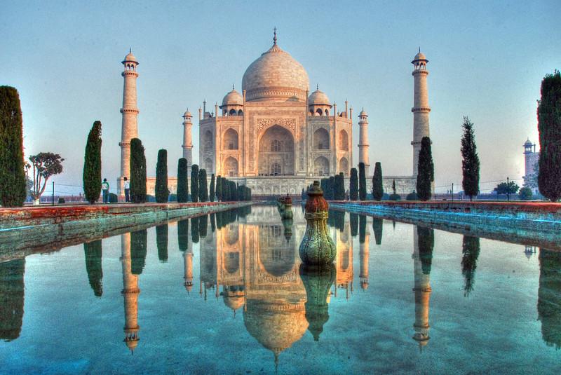 Taj Mahal at dawn