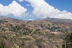 Cordilleras blancas as seen from Collon