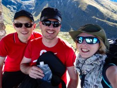 The ones who ended up hiking slowly to Lake Churup