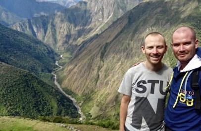 Ben and Andy at Intipata - Day 3