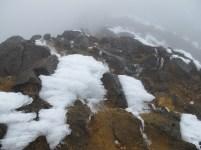 Snow on Iliniza Norte