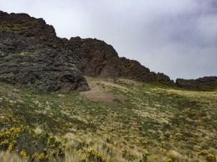 The lower part of Ruminahui