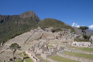 The terraces of Machu Picchu - Day 4