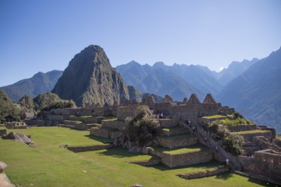 "The ""theatre"" gardens of Machu Picchu - DAy 4"