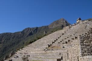 View of Machu Picchu towards the sun gate - Day 4