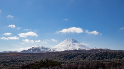 Mount Ngauruhoe AKA Mount Doom from afar
