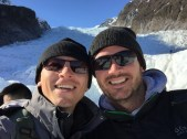 Ben and Andy on Fox Glacier