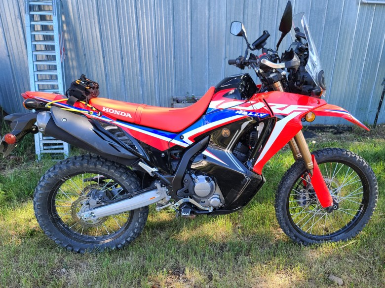 CRF300 Rally Pre-Guards