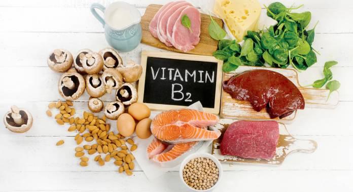 Riboflavin rất phổ biến ở thức ăn động vật cũng như thực vật