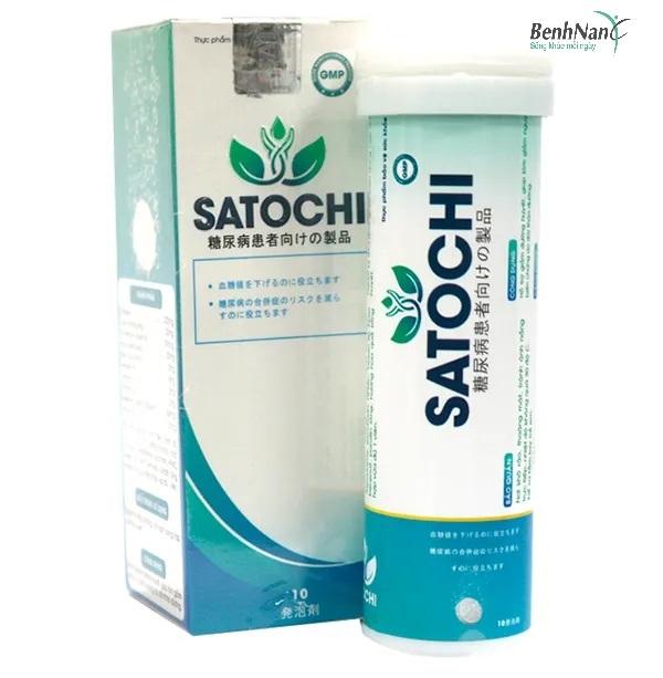 Viên sủi Satochi hỗ trợ điều trị bệnh tiểu đường