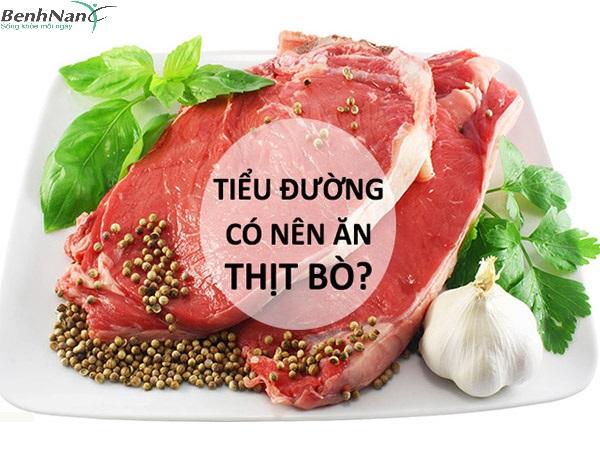 Bị tiểu đường thai kỳ ăn thịt bò được không?
